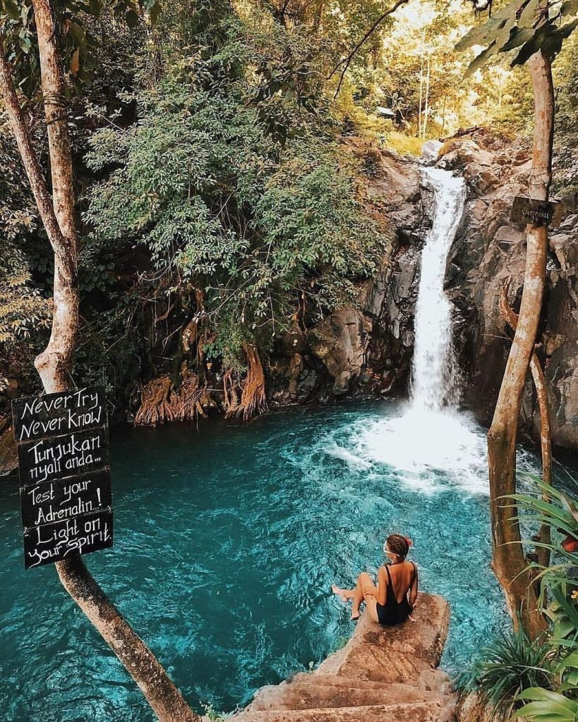 Aling-Aling waterfall is one of the best places to visit in Bali