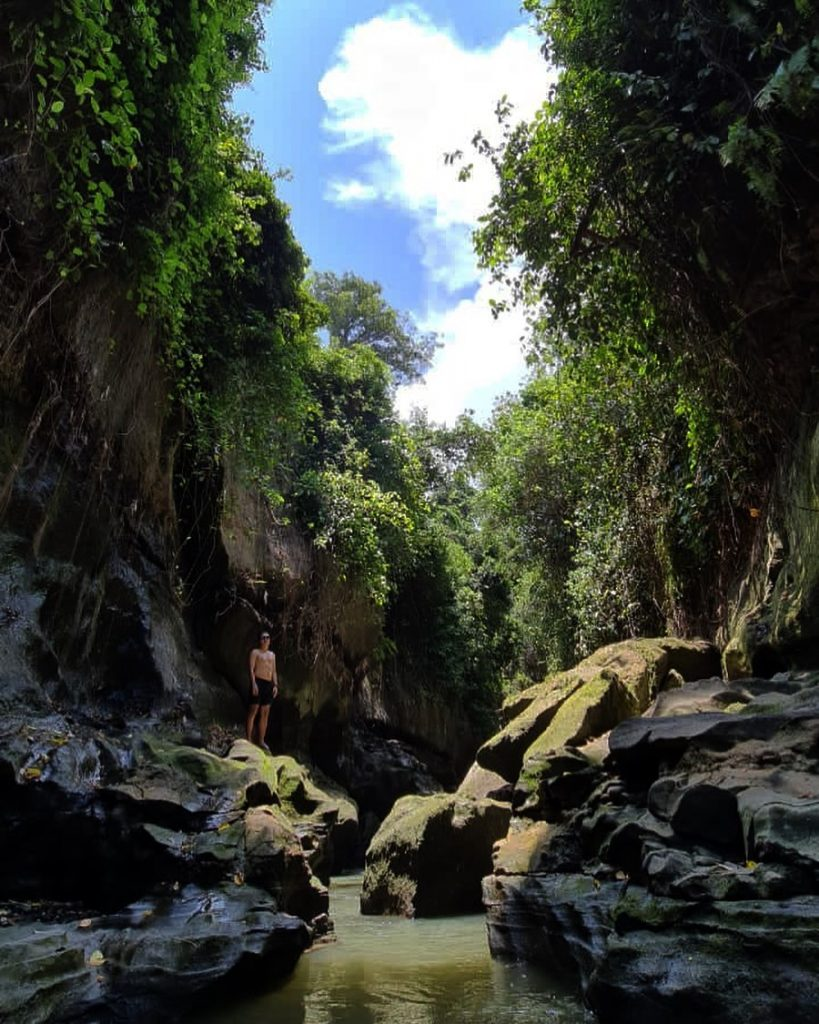 Hidden Canyon is one of the best places to visit in Bali