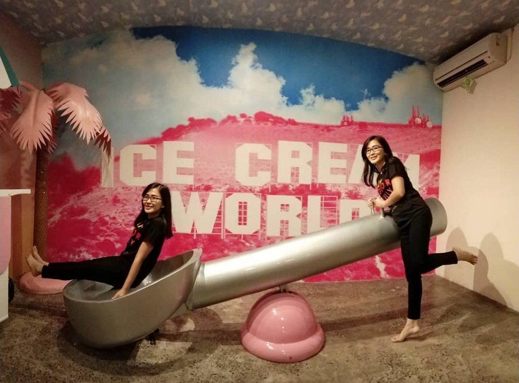 ice cream world is one of the best places to visit in Bali