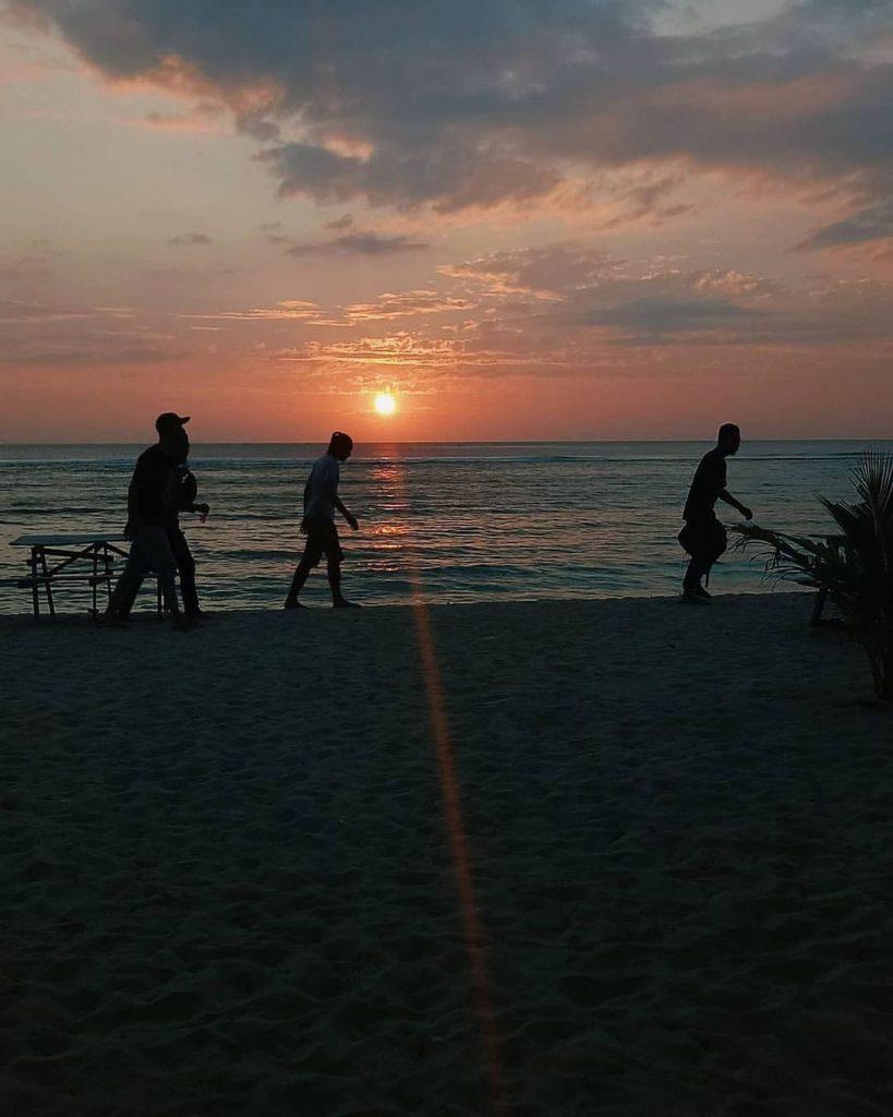 Lhoknga beach of aceh
