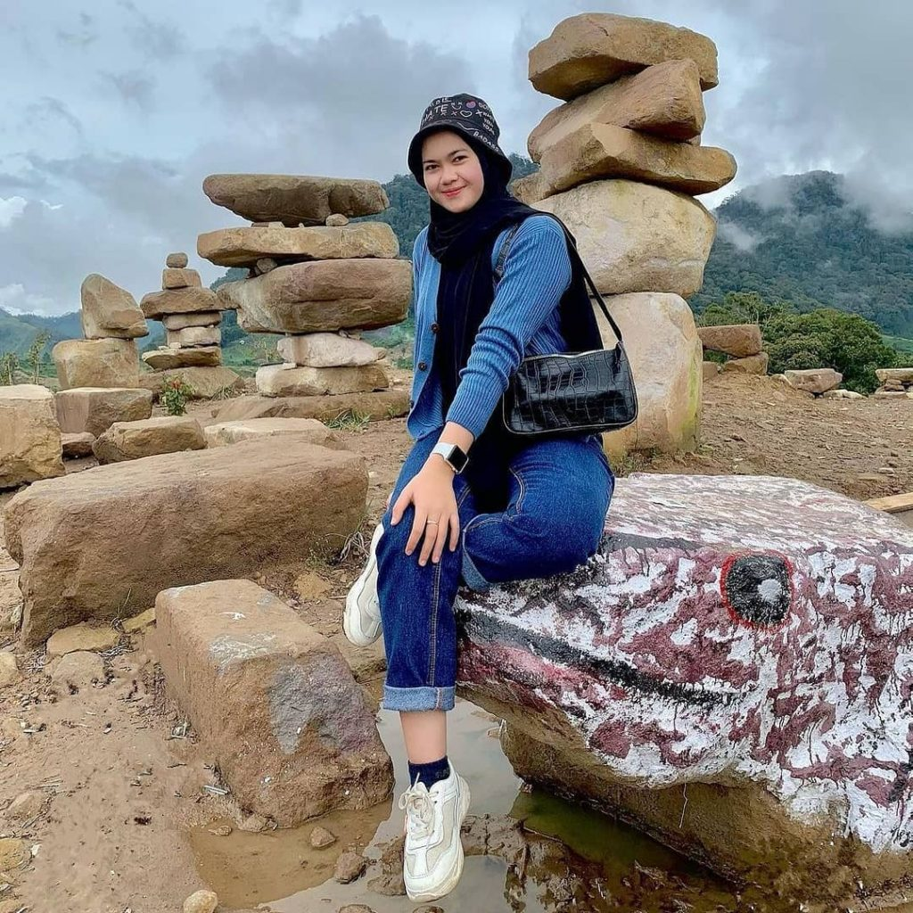 Pantan Terong hill is beautiful tourist destination in aceh