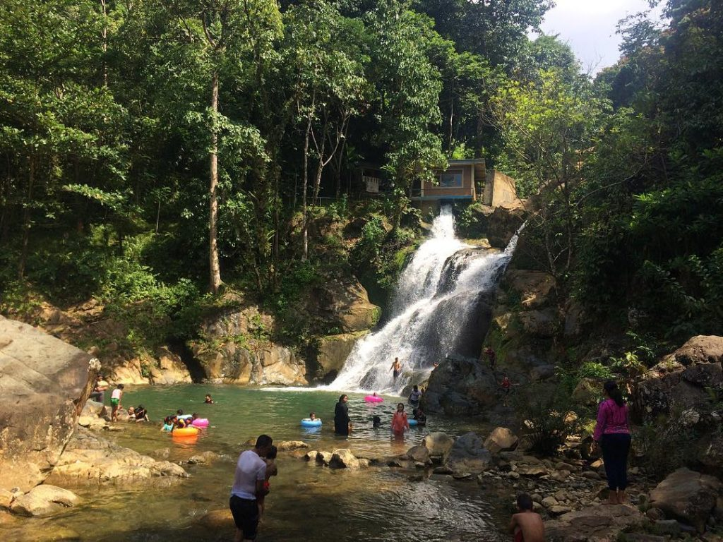 Suhom Waterfall is tourist destination in Aceh