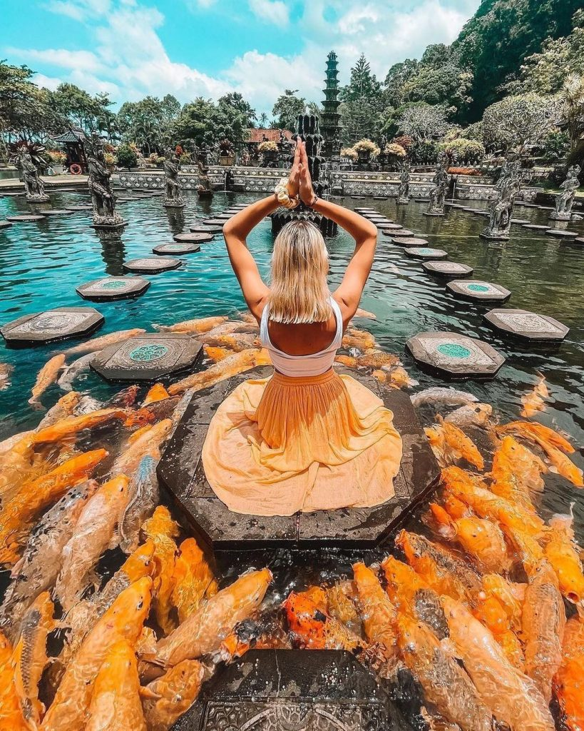 tirta gangga is is one of the best places to visit in Bali