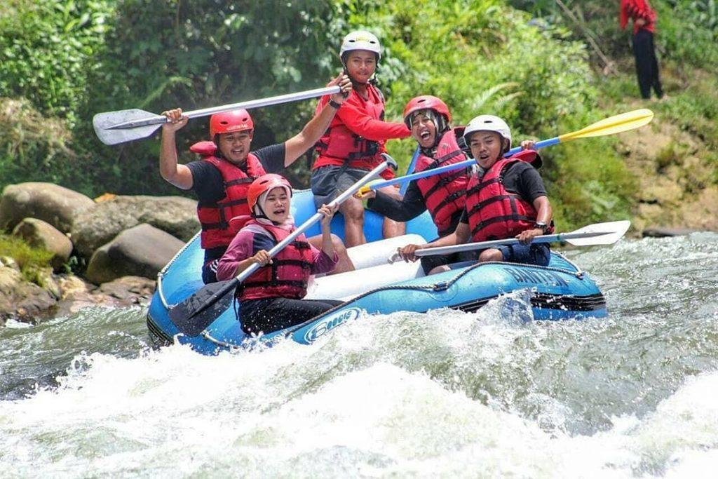 Ciberang river of Banten