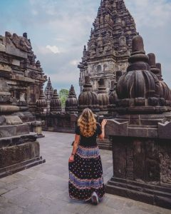 prambanan temple is tourist destination in yogyakarta