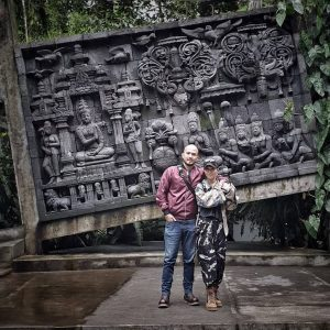 ullen sentalu museum is tourist destination in jogja