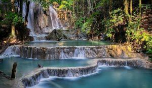 mata jitu waterfall west nusa tenggara