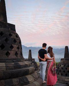 borobudur temple central java indonesia