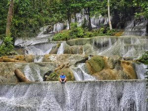 moramo waterfall Southeast Sulawesi Indonesia
