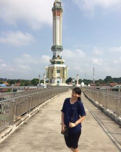 Pedestrian Bradge and Gentala Arasy Tower, Jambi