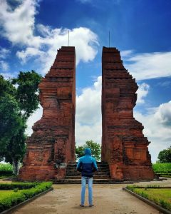 trowulan ancient is tourist attraction in west java