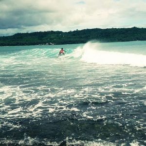 Sorake and Lagundri Beaches is tourist destination in north sumatra