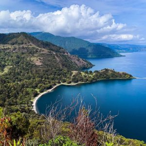 Toba Lake Is Beautiful Tourist Destination in North Sumatra
