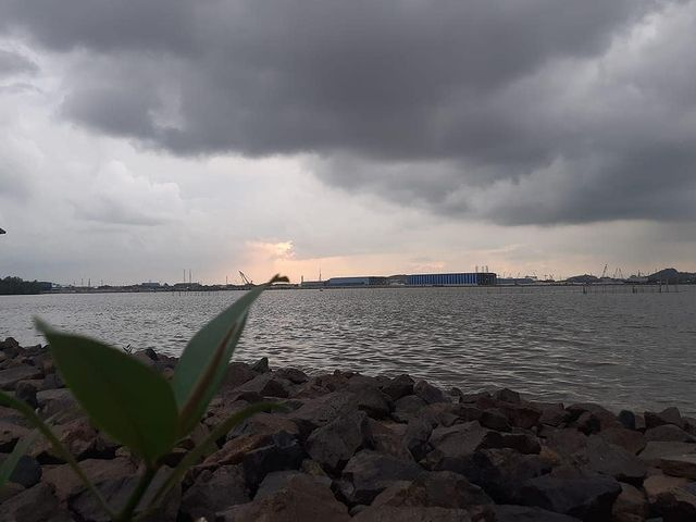 Marina Beach is the right choice as a tourist spot in Riau Islands that you must visit during your vacation.